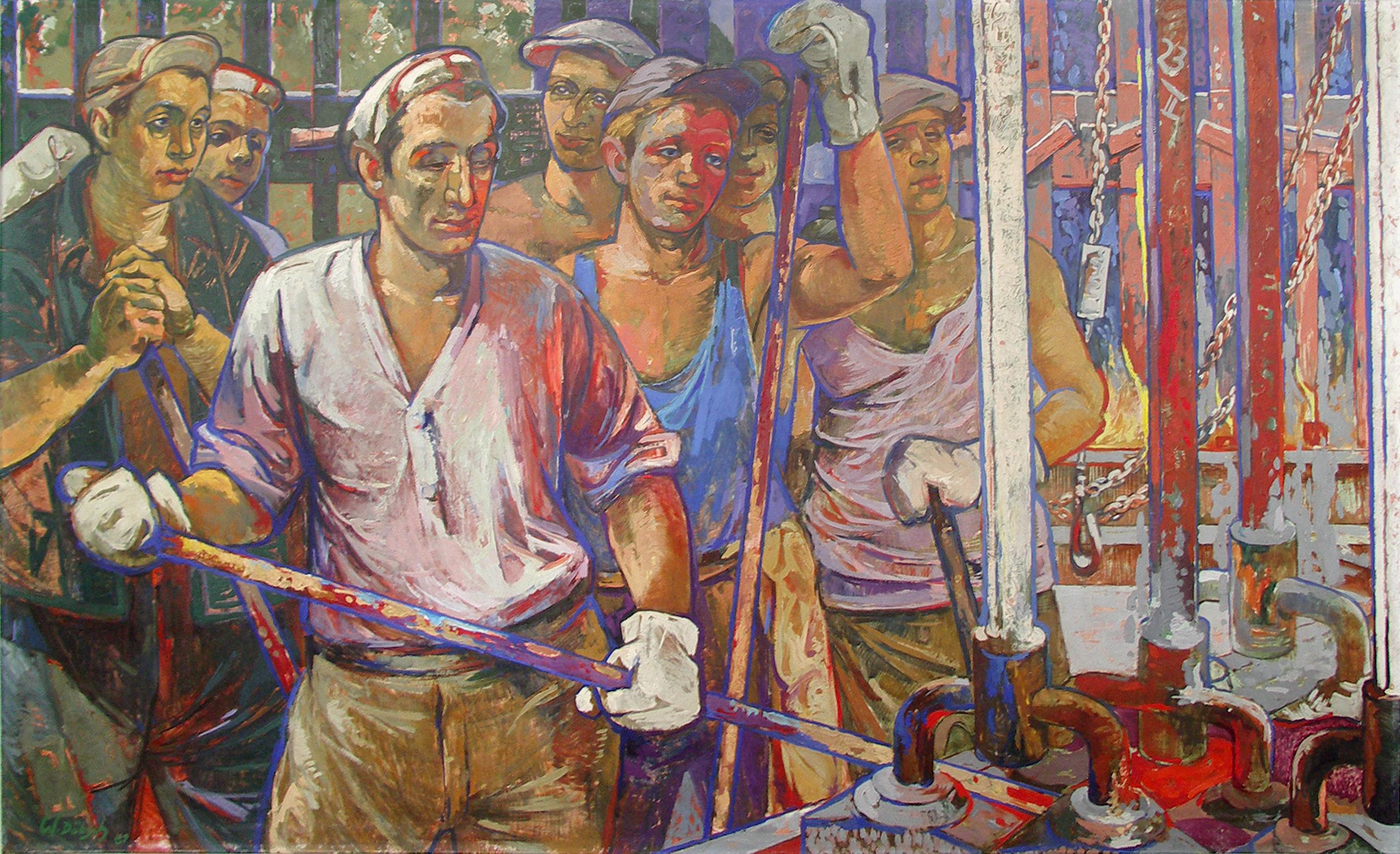 Arbeiter Und Arbeiterklasse In Der Ddr Kunst In Der Ddr Themenanregungen