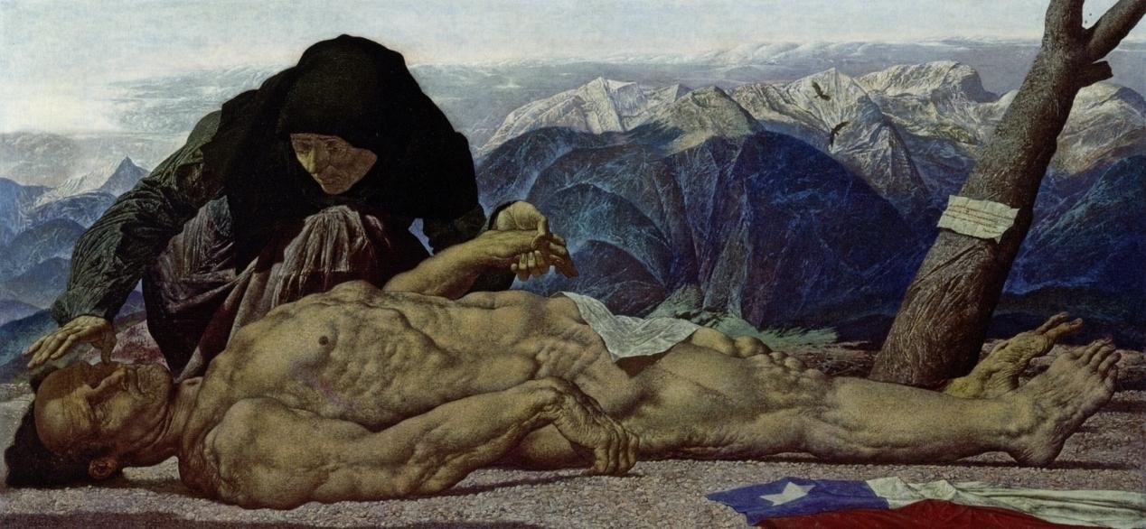 Werner Tübke, Chilenisches Requiem (1974)