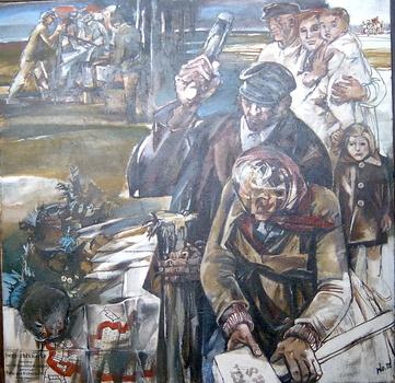 Walter Womacka. Bodenreform. 1972 - Kunst in der DDR / Werke